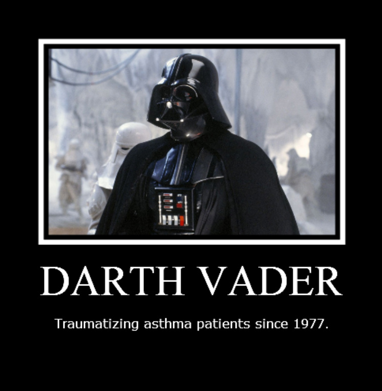 asthma darth vader